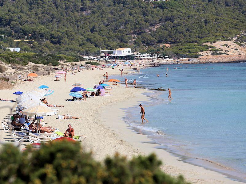 Es Cavallet beach Ibiza