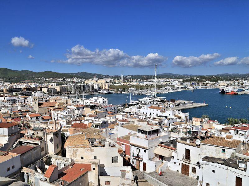 Ibiza town placa